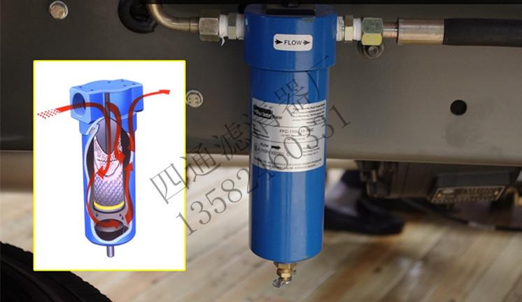 天然气发动机总成 低压燃气过滤器