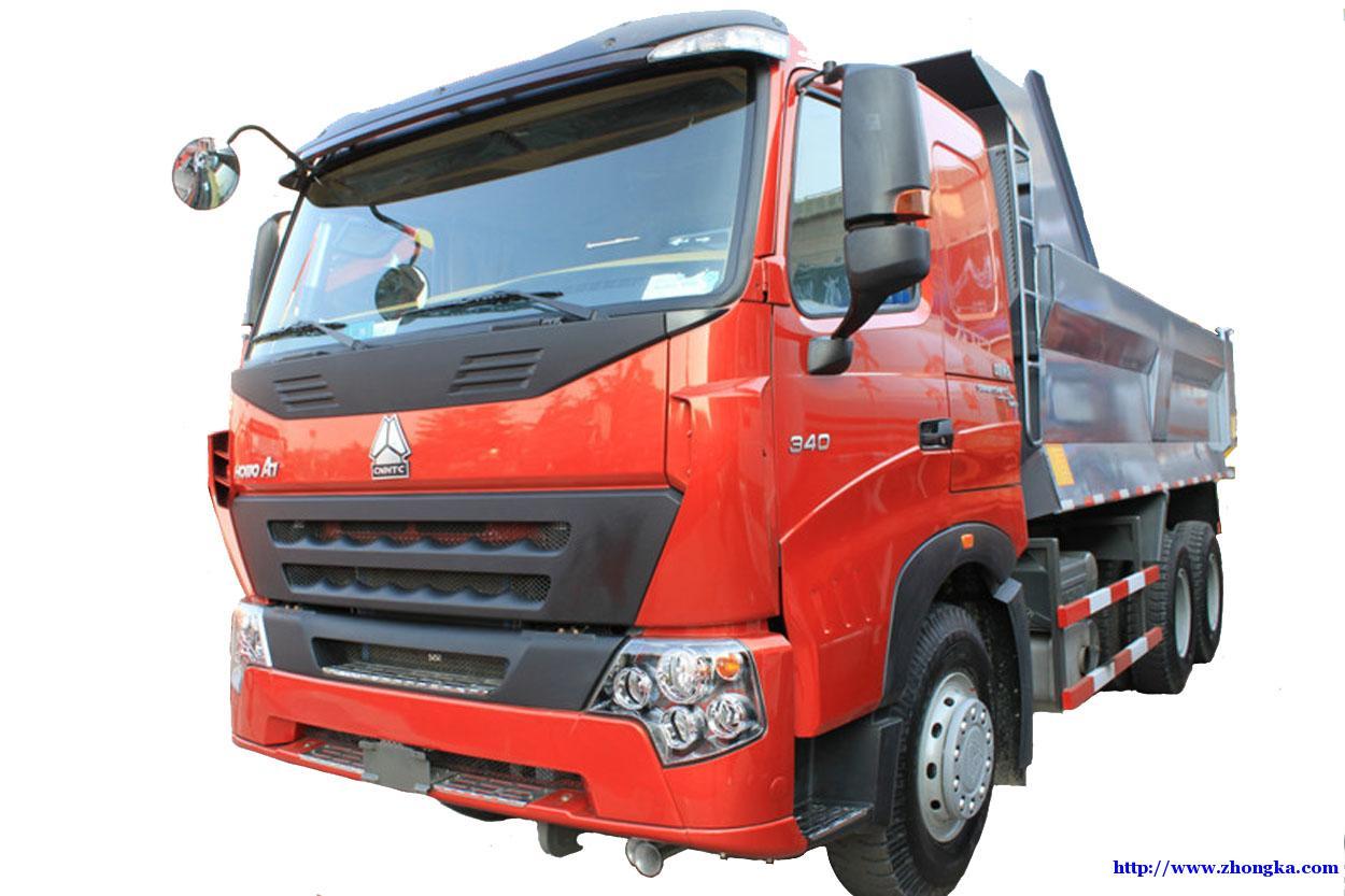 中国重汽 HOWO重卡 380马力 6X4 5.6米自卸车(