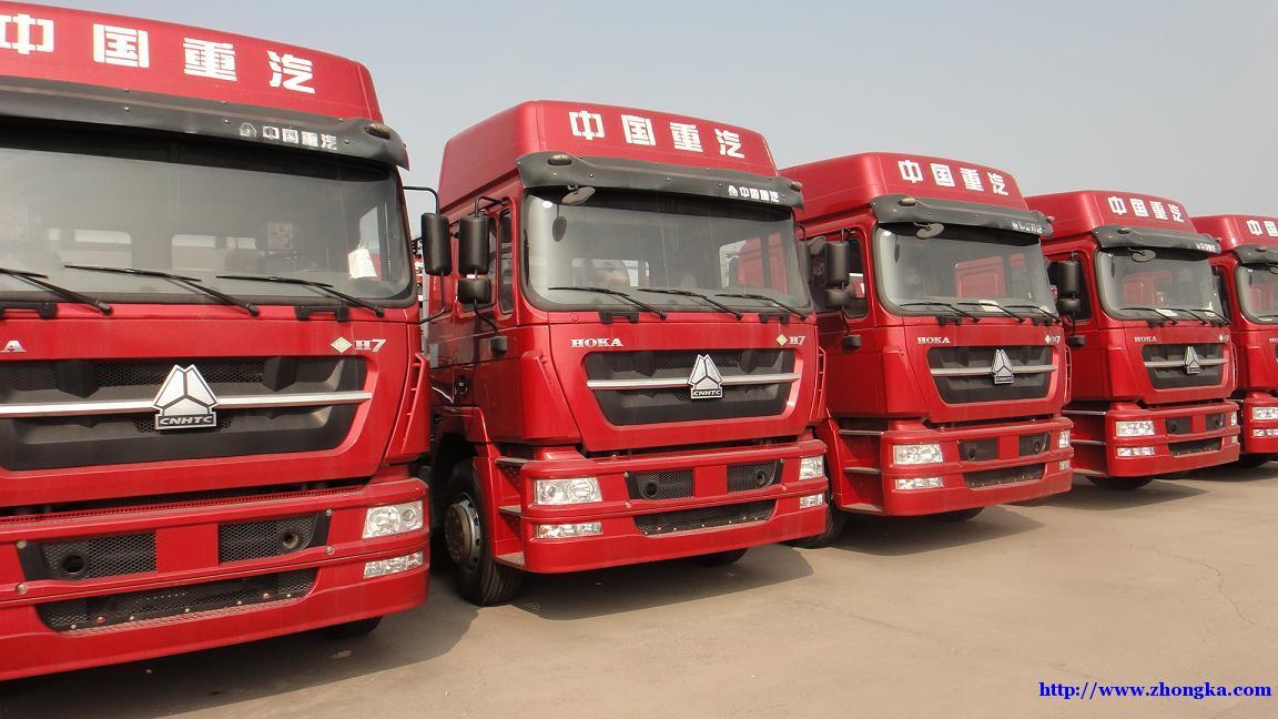 供应新款豪卡H7国五LNG天然气牵引车价格