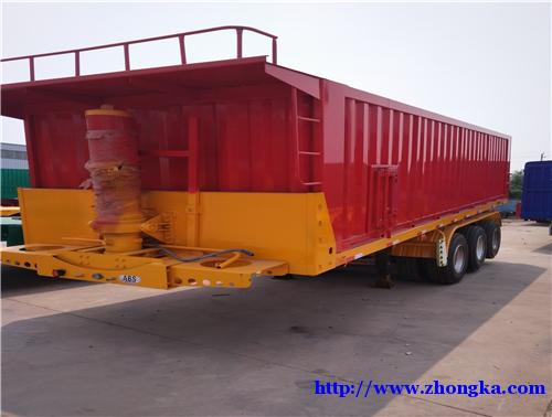 专业销售供应8.6米后翻自卸车