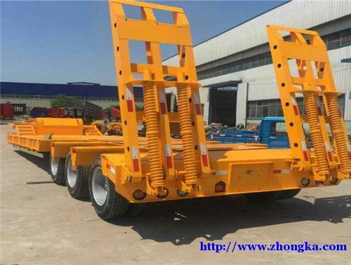 专业生产挖掘机运输半挂车