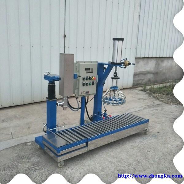 六盘水料斗式液体灌装机YFGZ50湖北枣阳有发机械