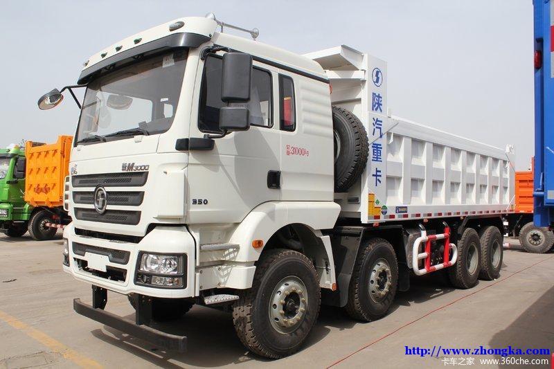 陕汽德龙 国5 新M3000 8X4城建加强版