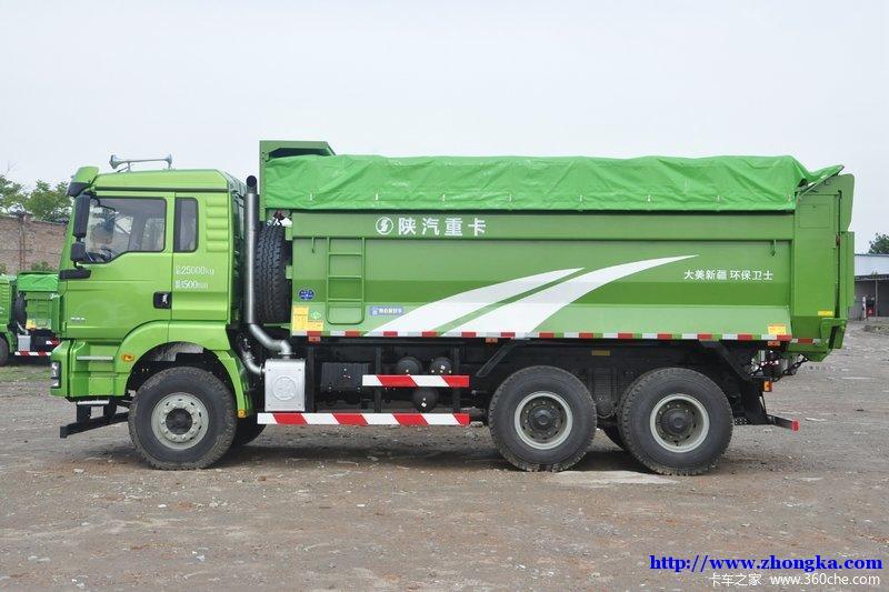 陕汽德龙 国5 新M3000 6X4城建标载版