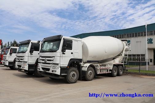 供应豪沃大20立方混泥土水泥搅拌运输车分期销售价格