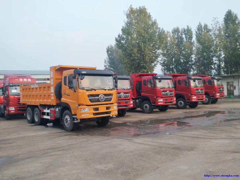 供应5.8米新款斯太尔环保渣土自卸车价格