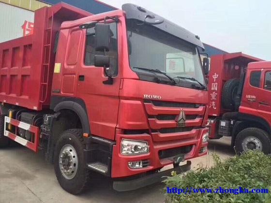 供应出口尼日利亚HOWO豪沃新款后八轮自卸车价格