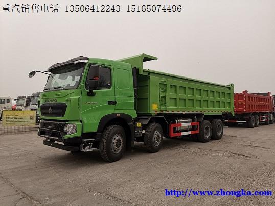 供应440马力6×4豪沃T7H德国曼牵引车价格