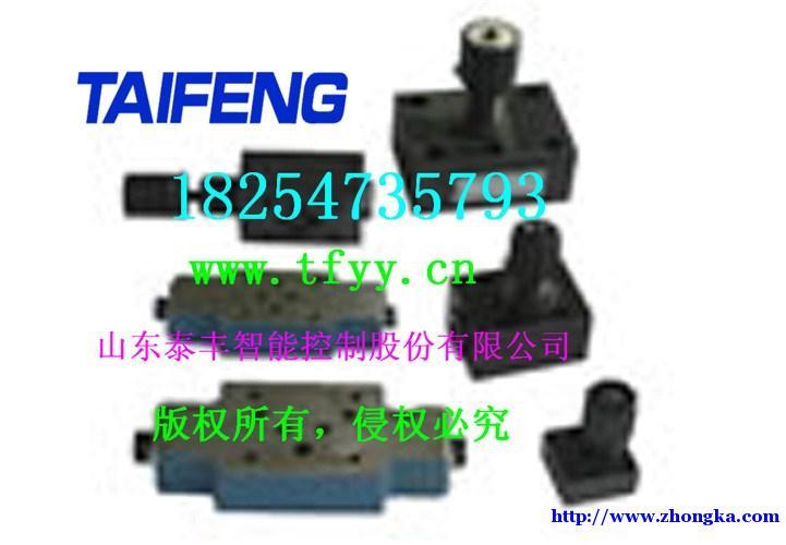 泰丰液压节流阀-泰丰专业打造控制盖板知名品牌