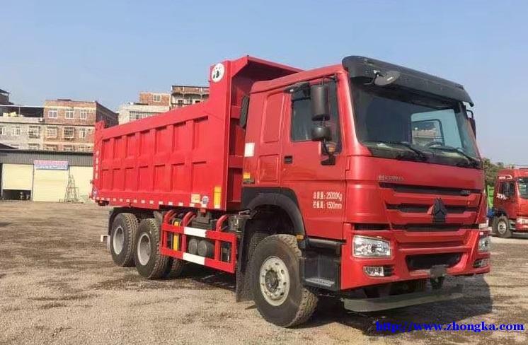 供应出口尼日利亚HOWO十轮翻斗自卸车价格