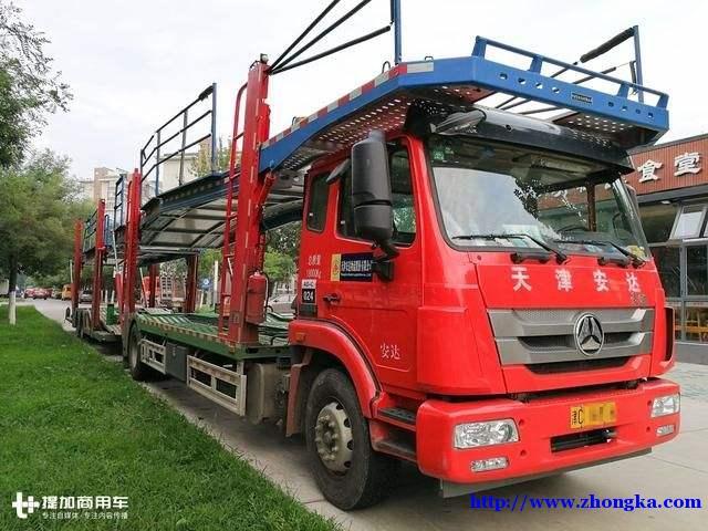 供应豪瀚N7G德国曼340马力中置轴车辆运输轿运车报价