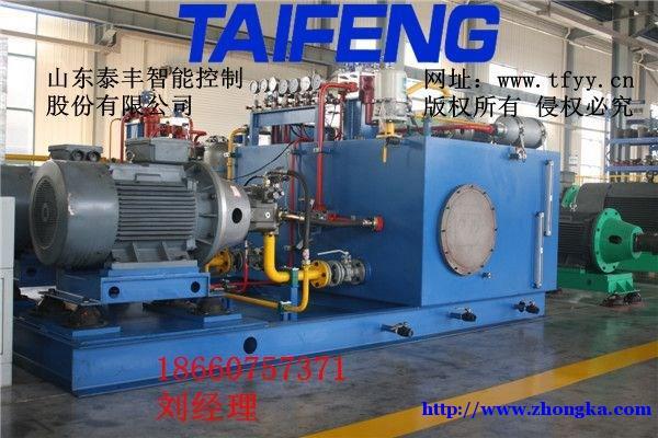泰丰液压系统,大型锻压机插装阀