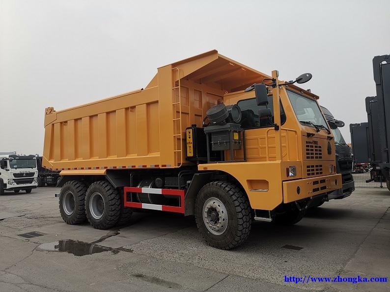 豪沃420马力特大型宽体矿山霸王工程专用车全国分期报价
