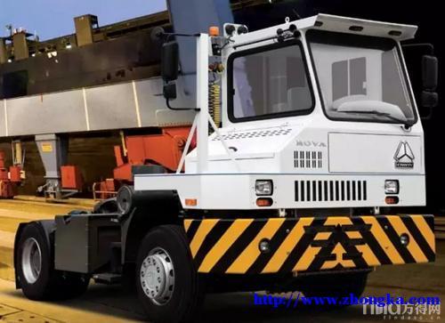 重汽HOVA(豪威钢厂码头船厂低速牵引车)促销价格