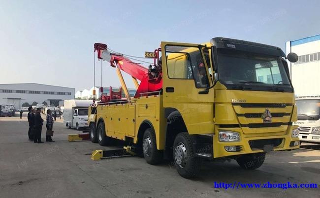 HOWO豪沃440马力曼技术(高速公路事故救援清障车)报价