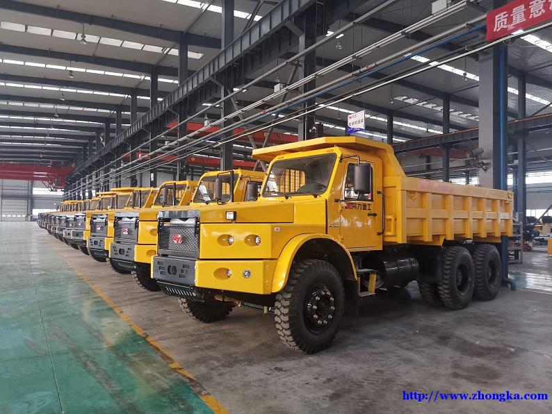 新款同力重工290马力坑道自卸车全国销售报价