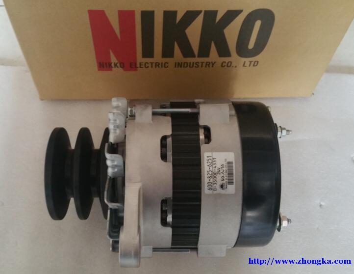 600-825-6251小松SA6D125E-2发电机