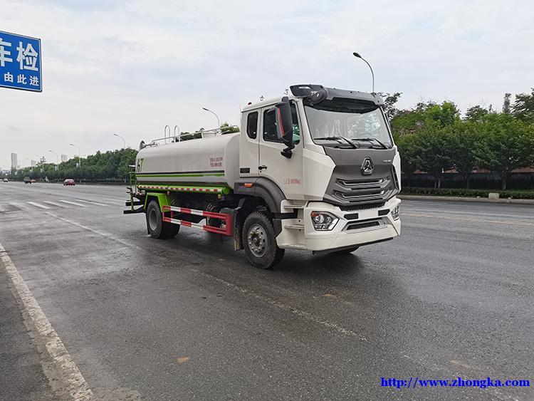豪瀚N7G国六市政环卫公路洒水专用车价格