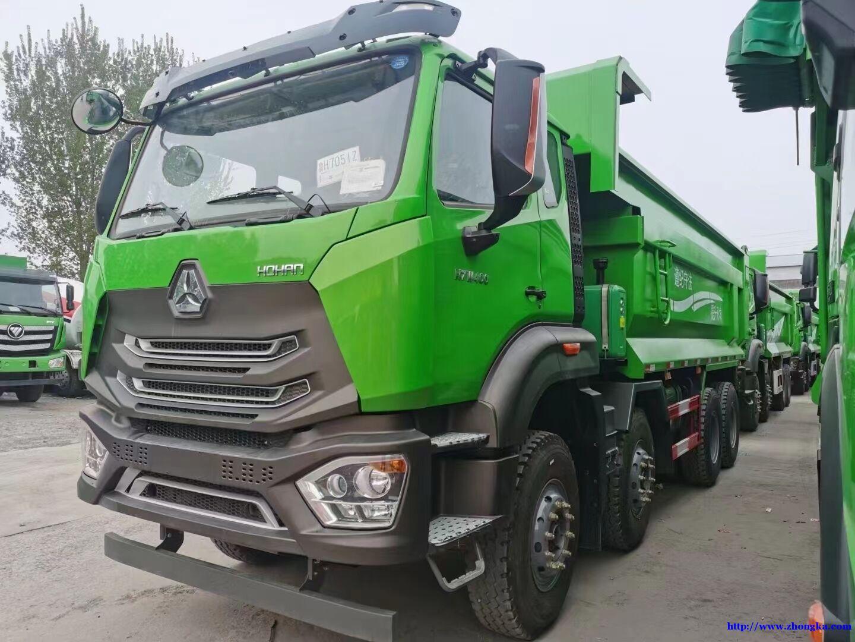 重汽出口版豪瀚N7G自卸车5.6米价格